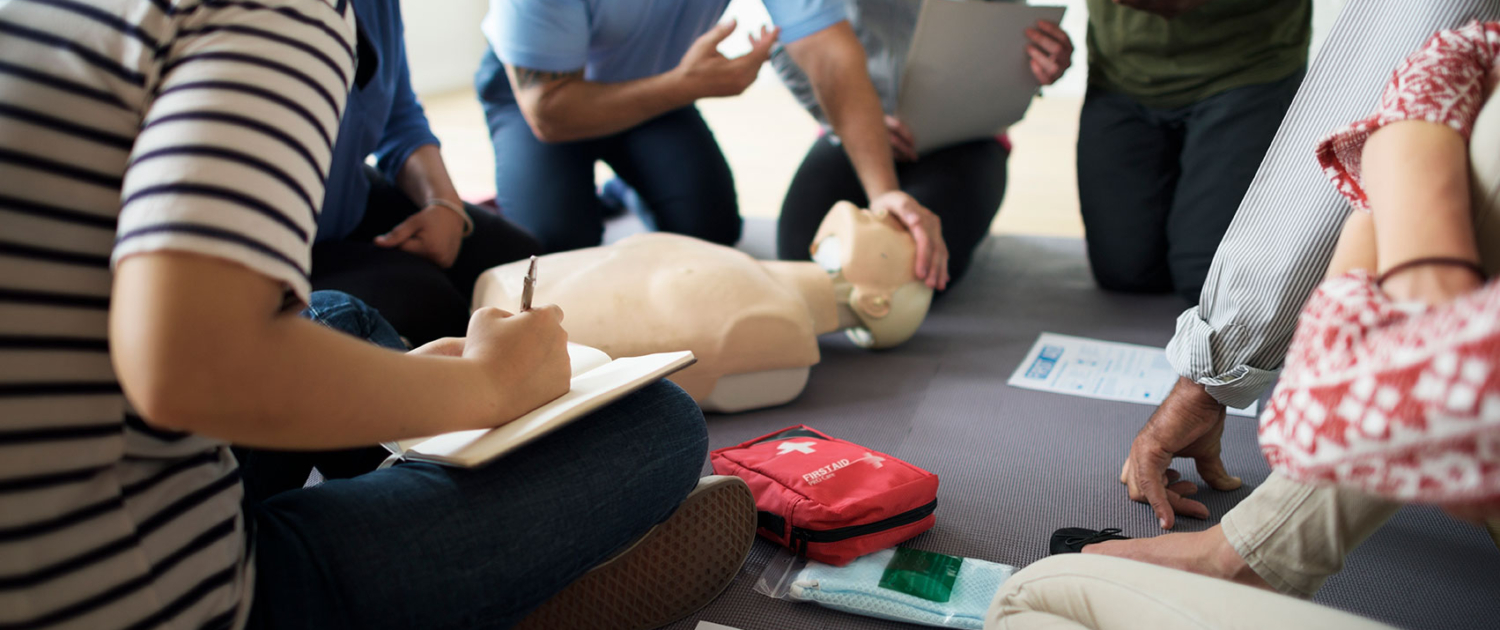 CPR First Aid Class Training