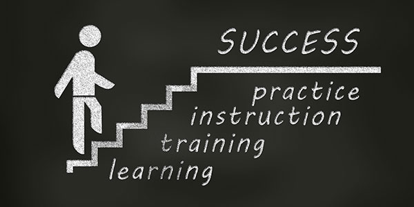 Success - Training, Learning, Practice